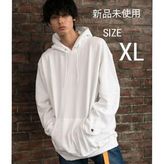 Champion - 【新品】Champion パーカー ホワイト XLサイズ