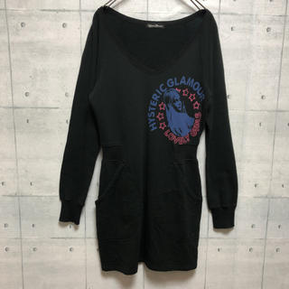 HYSTERIC GLAMOUR - HYSTERIC GLAMOUR ヒステリックグラマー ワンピース