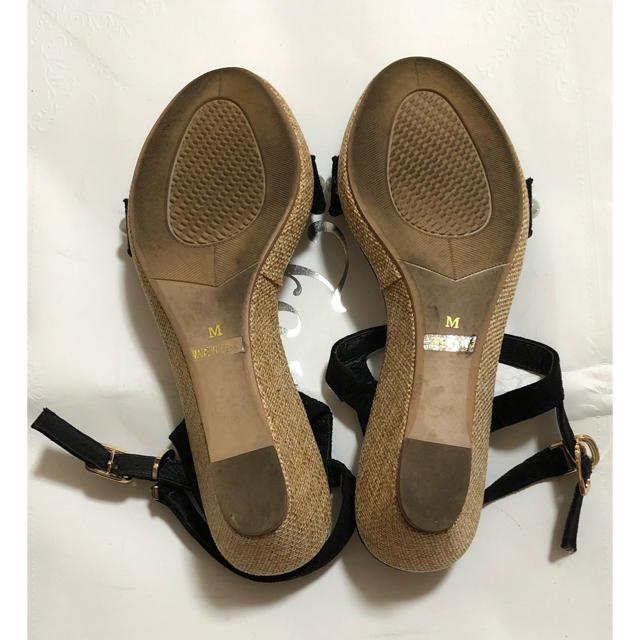 Feroux(フェルゥ)のサンダル 【パールデザイン】 レディースの靴/シューズ(サンダル)の商品写真