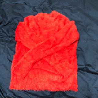 ローリーズファーム(LOWRYS FARM)のローリーズファーム 赤ニット(ニット/セーター)