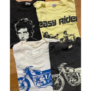 フリーホイーラーズ(FREEWHEELERS)のブートレガーズ レアTシャツ 4枚セット ボブディラン(Tシャツ/カットソー(半袖/袖なし))