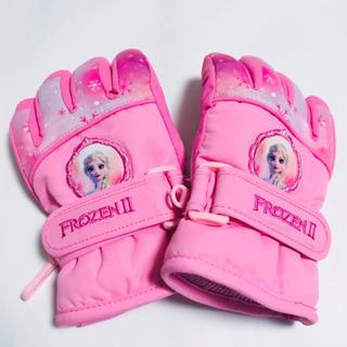 アナと雪の女王 - 新作 ! アナ雪 アナと雪の女王 手袋 S M L キッズ 子供 スケート 防水