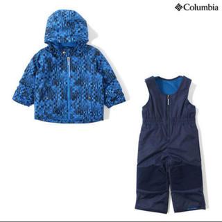 Columbia - ✦ฺ︎美品✦ฺ︎♡モンベル♡ 100 スキーウェア 雪遊び 子供 キッズ