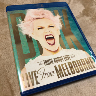 P!nk TRUTH ABOUT LOVE TOUR  輸入盤 ブルーレイ