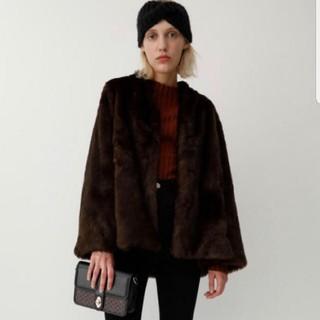 moussy - MOUSSY ファーコート ジャケット