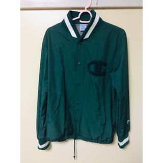 チャンピオン(Champion)のチャンピオン ブルゾン サイズS グリーン 緑 メンズ パーカー ジャケット(ブルゾン)