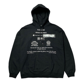 "DAIRIKU MOVIE TICKET ""END ROLL"" HOODIE"