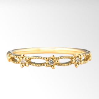 スタージュエリー(STAR JEWELRY)のスタージュエリー K18 ダイヤモンドクラフトリング(リング(指輪))