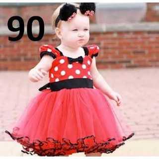 Disney - C007_90:ミニーちゃん ベビー ドレス