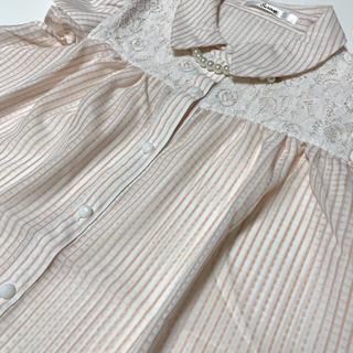 アベイル(Avail)のノースリーブストライプブラウス(シャツ/ブラウス(半袖/袖なし))