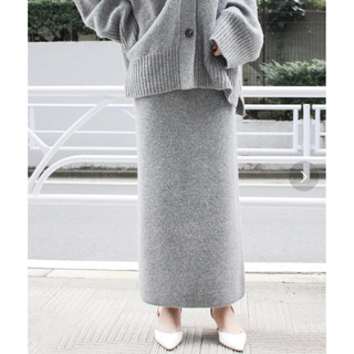 Plage - プラージュ  Slit Knitスカート 今季新品 リブ スカート