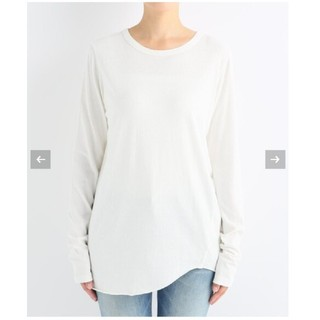 DEUXIEME CLASSE - 新品☆Layering Tシャツ ホワイト
