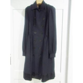 DOUBLE STANDARD CLOTHING - sov. ダブルスタンダードクロージングドレストレンチコート☆
