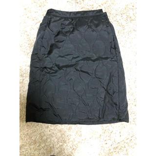 UNIQLO - 防風ウォームイージーラップスカート
