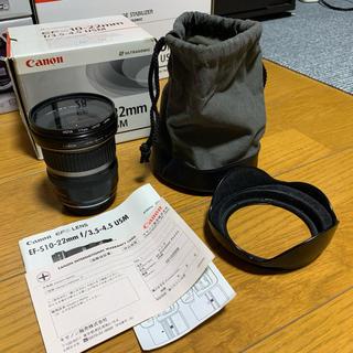 Canon - EF-S 10-22mm f3.5-4.5 CanonキヤノンEOS kiss等