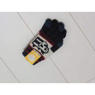 マザウェイズ(motherways)のy25❤motherways ふわモコ手袋・新幹線 M(5-9才) 新品❤(手袋)