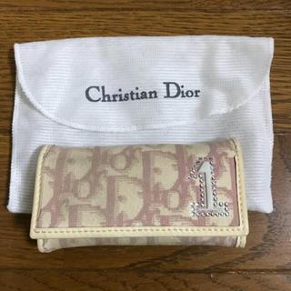 クリスチャンディオール(Christian Dior)のChristian Dior 4連キーケース(キーケース)