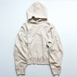 SUNSEA - stein OVERSIZED REBUILD SWEAT HOODED【M】