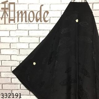 【和モード】黒 羽織 和模様 地模様 コート 羽織コーデ ヨウジヤマモト 好きに