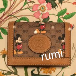 Gucci - 新品未使用 グッチミッキー コラボ 財布