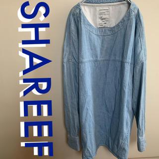 シャリーフ(SHAREEF)のSHAREEF DENIM PULL OVER シャリーフ  サイズ1(Tシャツ/カットソー(七分/長袖))