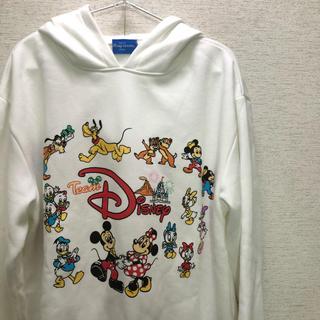 Disney - 極美品 ディズニーパーカー:チームディズニー Lサイズ