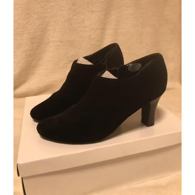 DIANA(ダイアナ)のBINOCHE ビノシュ 本革 スエード ブーティ レディースの靴/シューズ(ブーティ)の商品写真