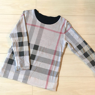 BURBERRY - 美品 BURBERRY LONDON リバーシブル 長袖 カットソー 140A