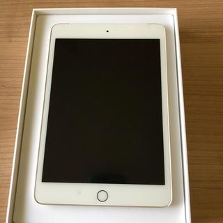 iPad - 美品 iPad mini 4  32GB   ゴールド