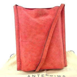 アンテプリマ(ANTEPRIMA)のアンテプリマ スエード  ショルダーバッグ  肩掛け 斜め掛け ピンク系 (ショルダーバッグ)