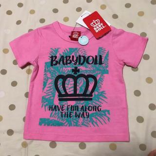 BABYDOLL - BABYDOLL 半袖Tシャツ 80サイズ☆新品未使用タグ付き