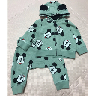 H&M - H&M Mickey mouse セットアップ