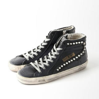 L'Appartement DEUXIEME CLASSE - 新品 GOLDEN GOOSE/SHOES STUDS SNEAKERS/38