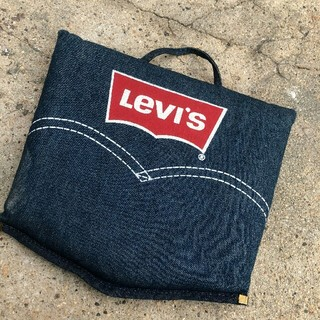 リーバイス(Levi's)のレア!vintage Levi's スタジアム デニムクッション(Gジャン/デニムジャケット)