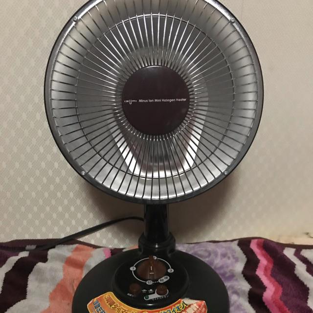 マイナスイオン ハロゲンヒーター スマホ/家電/カメラの冷暖房/空調(電気ヒーター)の商品写真