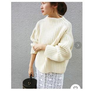 IENA - IENA chere British wool プルオーバー☆イエナ ニット