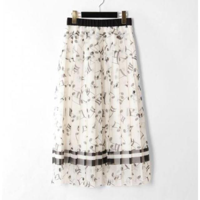 GRACE CONTINENTAL(グレースコンチネンタル)のグレースコンチネンタル プリーツスカート レディースのスカート(ロングスカート)の商品写真