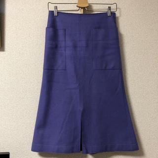 プラージュ(Plage)のplage ウールスカート(ひざ丈スカート)