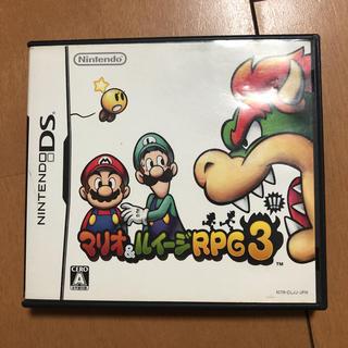 ニンテンドーDS - マリオ&ルイージRPG 3  DS任天堂