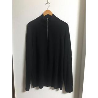 エイチアンドエム(H&M)のzip up knit H&M(ニット/セーター)