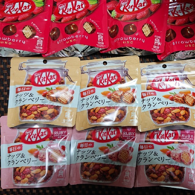 Nestle(ネスレ)のキットカット 10袋 食品/飲料/酒の食品(菓子/デザート)の商品写真