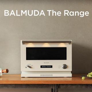 バルミューダ(BALMUDA)のバルミューダ The Range  ホワイト♡(電子レンジ)