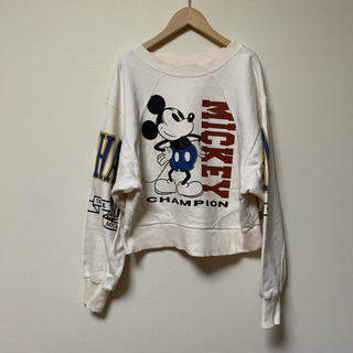 moussy - moussy×Disney♡リメイク風スウェット