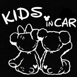 Kids in Car カッティングステッカー ダッフィー