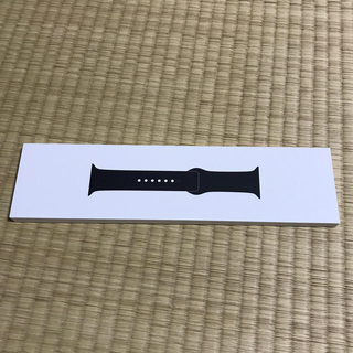 Apple Watch - Apple Watch 38or40mm 純正バンド ブラック