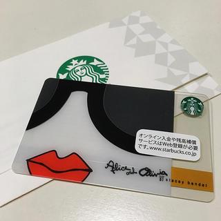 Alice+Olivia - STARBUCKS  アリス アンド オリビア 限定レアカ-ド