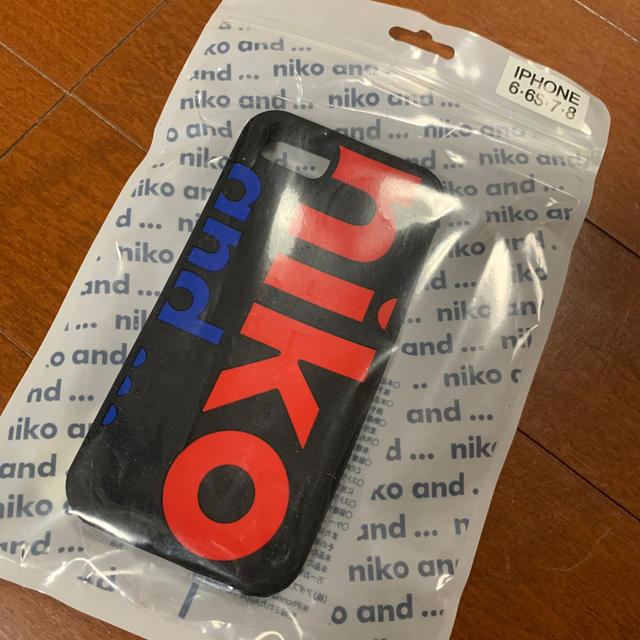 niko and...(ニコアンド)のiPhone7.8ケース スマホ/家電/カメラのスマホアクセサリー(iPhoneケース)の商品写真