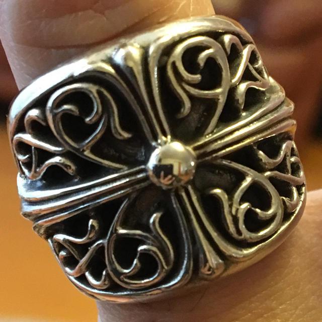 Chrome Hearts(クロムハーツ)のクラシックオーバルクロスリング メンズのアクセサリー(リング(指輪))の商品写真