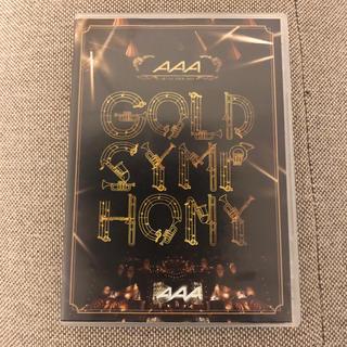 AAA - AAA ARENA TOUR 2014 -Gold Symphony- DVD