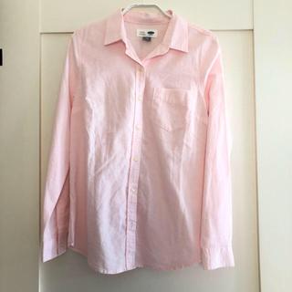オールドネイビー(Old Navy)の新品☆オールドネイビーピンクシャツ(シャツ/ブラウス(長袖/七分))